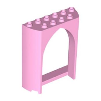 LEGO 6209805 CLOISON / FENETRE 2X6X6 - ROSE CLAIR