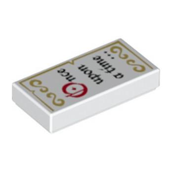 LEGO 6157985 PLAT LISSE 1X2  - IMPRIME DISNEY lego-6157985-plat-lisse-1x2-imprime-disney ici :