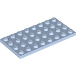 LEGO 6056280 PLATE 4X8 - LIGHT ROYAL BLUE