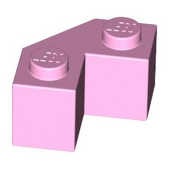 LEGO 6204509 BRIQUE 2X2 ANGLE 45° - ROSE CLAIR