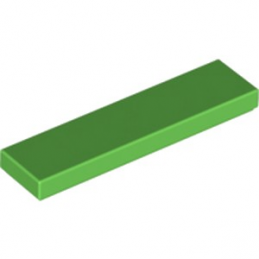 LEGO 6195267 PLATE LISSE 1X4 - BRIGHT GREEN