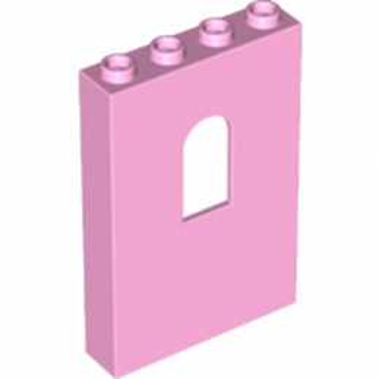 LEGO 6204130 MUR / CLOISON 1X4X5 - ROSE CLAIR