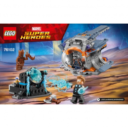 Notice / Instruction Lego Super Heroes 76102