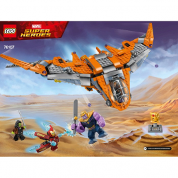 Notice / Instruction Lego Super Heroes 76107