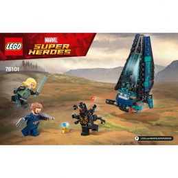 Notice / Instruction Lego Super Heroes 76101