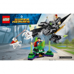 Notice / Instruction Lego Super Heroes 76096