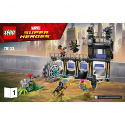 Notice / Instruction Lego Super Heroes 76103