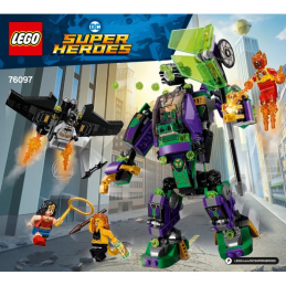 Notice / Instruction Lego Super Heroes 76097