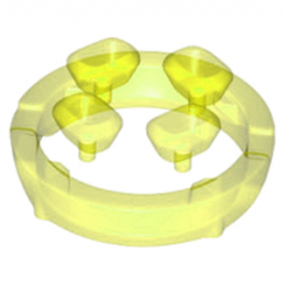 LEGO 6223002 DIAMANT - JAUNE TRANSPARENT