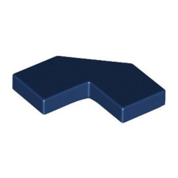 LEGO 6166854 PLATE LISSE 2X2, 2X2, DEG. 90, W/ DEG. 45 - EARTH BLUE