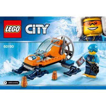 Notice / Instruction Lego City 60190