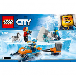 Notice / Instruction Lego City 60191