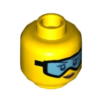 LEGO 6225115 TÊTE FEMME / LUNETTE lego-6225115-tete-femme-lunette ici :