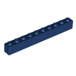 LEGO 6224700 BRIQUE 1X10 - EARTH BLUE