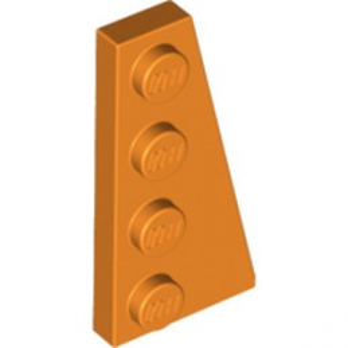 LEGO 6224252 PLATE 2X4 ANGLE DROIT - ORANGE