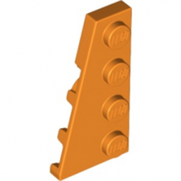 LEGO 6224249 PLATE 2X4 ANGLE GAUCHE - ORANGE