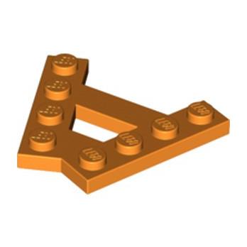 LEGO 6224699 PLATE (A) 4M 45° - ORANGE