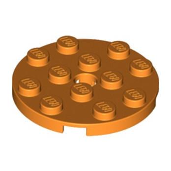 LEGO 6226926 PLATE ROND 4X4 - ORANGE lego-6226926-plate-rond-4x4-orange ici :