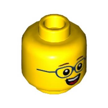 LEGO 6231933 TÊTE ENFANT AVEC LUNETTE
