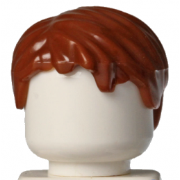 LEGO 6227107 CHEVEUX HOMME - REDDISH BROWN