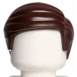 LEGO 6065515 CHEVEUX HOMME - DARK BROWN
