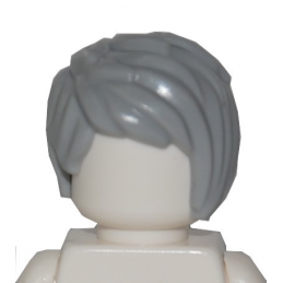 LEGO 6234563 CHEVEUX HOMME - MEDIUM STONE GREY