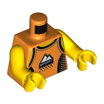 LEGO 6231949 TORSE  SPORT - ORANGE
