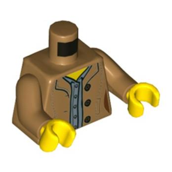 LEGO 6224041 TORSE  FEMME - MEDIUM NOUGAT