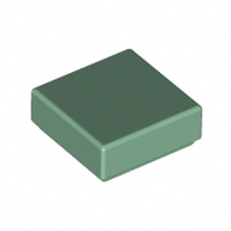 LEGO 6223913 PLATE LISSE 1X1 - SAND GREEN
