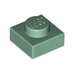 LEGO 6099189 PLATE 1X1 - SAND GREEN