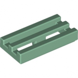 LEGO 6223126 GRILLE 1X2 - SAND GREEN