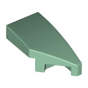 LEGO 6221729 ARQUE 1X2 DROITE 45 DEG - SAND GREEN