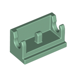 LEGO 6223234 ROCKER BEARING 1X2 - SAND GREEN