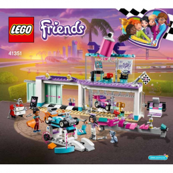 Notice / Instruction Lego Friends 41351 notice-instruction-lego-friends-41351 ici :