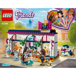 Notice / Instruction Lego Friends 41344