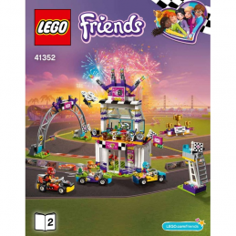 Notice / Instruction Lego Friends 41352