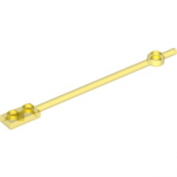 LEGO  6121435 BARRE 1X12 - JAUNE TRANSPARENT
