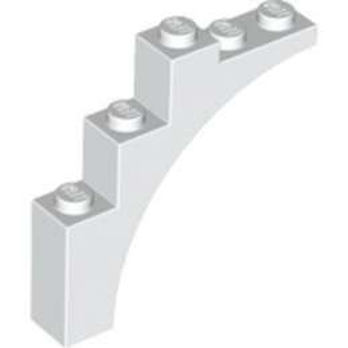 LEGO 6222425 ARCHE 1X5X4 - BLANC