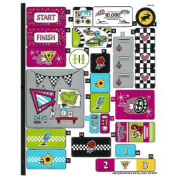 Stickers / Autocollant Lego  Friends - 41352 stickers-autocollant-lego-friends-41352 ici :