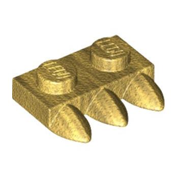 LEGO 6207764 DENT / GRIFFE 1X2 - WARM GOLD