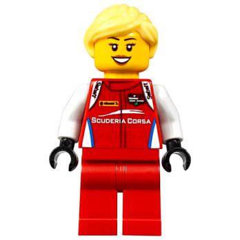 Figurine Lego® Speed Champions - Pilote Ferrari