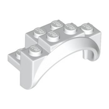 LEGO 6293776 MUDGUARD 2X4X2 - WHITE