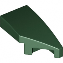 LEGO 6214813 ARQUE 1X2 DROITE 45 DEG - EARTH GREEN