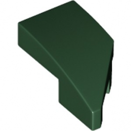 LEGO 6214814 ARQUE 1X2 GAUCHE 45 DEG - EARTH GREEN