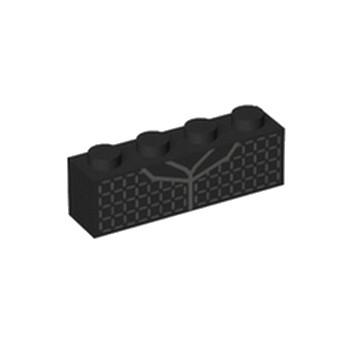 LEGO 6213700 BRIQUE 1X4 IMPRIME BRICKHEADZ KYLO REN