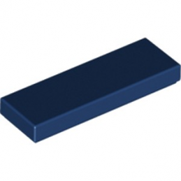 LEGO 6132566 PLATE LISSE 1X3 - EARTH BLUE