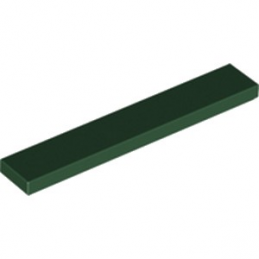 LEGO 6216880 PLATE LISSEE 1X6 - EARTH GREEN