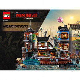 Notice / Instruction Lego Ninjago 70657