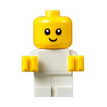 Figurine Lego® City - Bébé - Blanc