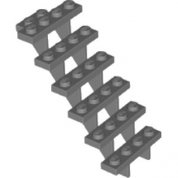 LEGO 4279270 ESCALIER 7x4x6 - DARK STONE GREY